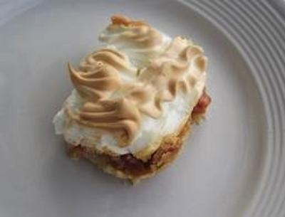 Rhubarb-Torte